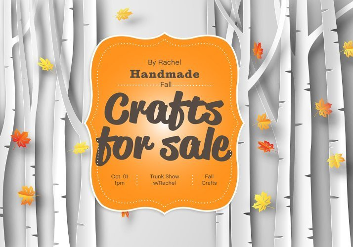 Handmade fall crafts by Rachel for sale