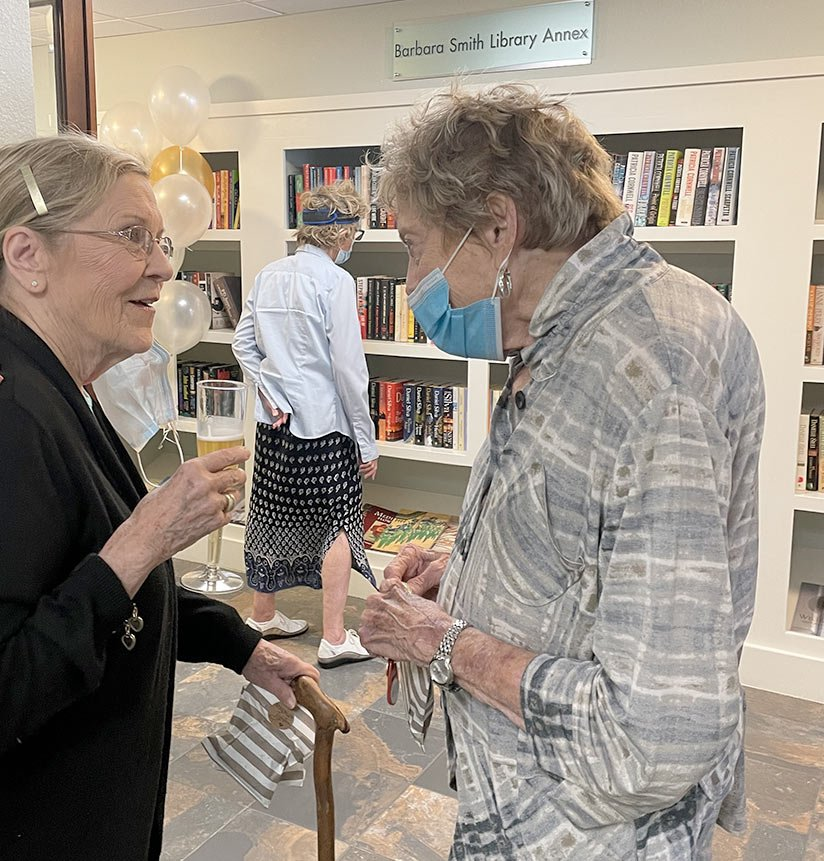 Barbara Smith Library Annex Ribbon Cutting